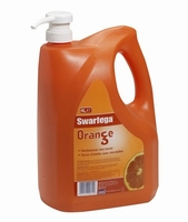 Swarfega Orange Pump Pack  4 x 4L