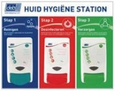 Deb® Food Huid Hygiëne 3 staps Station incl dispensers